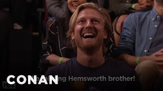 Audience Member Theme Songs: Missing Hemsworth Edition  - CONAN on TBS