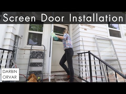 Installing a Screen Door