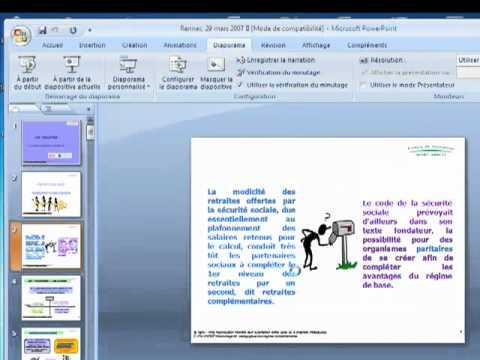 Comment tranformer un fichier powerpoint en fichier word