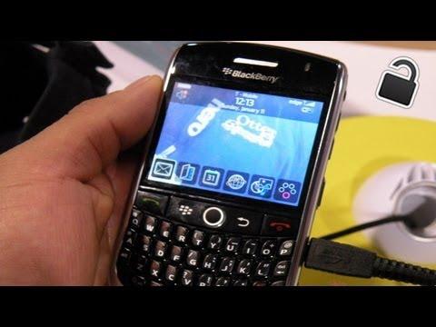 How To Unlock Blackberry 8900