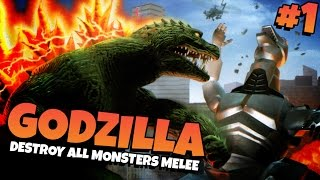Godzilla: Destroy All Monsters Melee   Part 1 - GODZILLA!