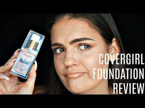 NEW COVERGIRL HEALTHY ELIXIR FOUNDATION Review & First Impression | Julia Salvia