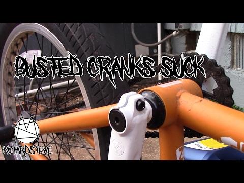 Fixing My Broken BMX Cranks | Another Supermoto Update