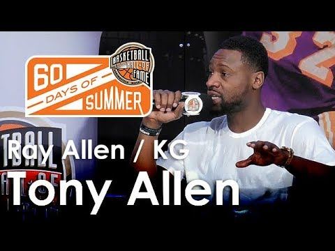 Tony Allen talks about playing with the Ray Allen and KG