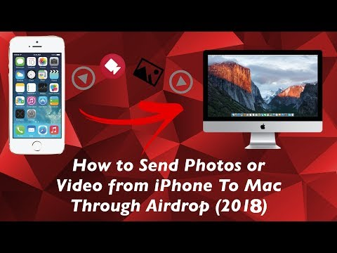 How To Use AirDrop on The Iphone In IOS 8 | Iphone To Mac