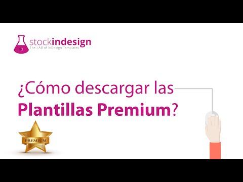 ¿Cómo descargar las Plantillas Premium?