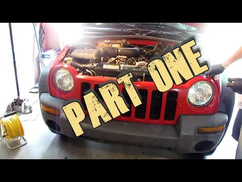 Part 1   Remove and Replace 2002 - 2007 Jeep Liberty Radiator