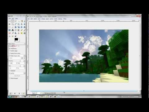 How to make your minecraft screenshots look amazing! (TUTORIAL)