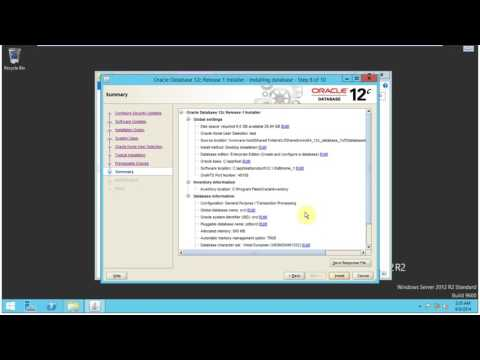 Install Windows server 2012 & Oracle Database 12c On VMware Step by Step Part 2