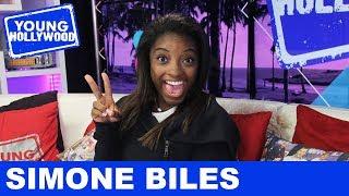 Simone Biles Plays Never Have I Ever!
