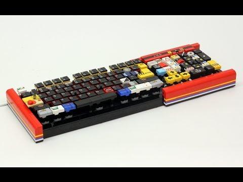 Working LEGO Computer Keyboard