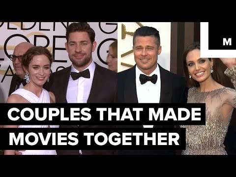 8 Hollywood Couples That Couldn't Help but Make Movie Magic Together