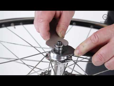 Adjust A Bike Wheel's Cup And Cone Rear Hub