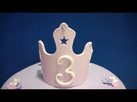 Torta Coronita de Princesa; Princess Cake with Crown