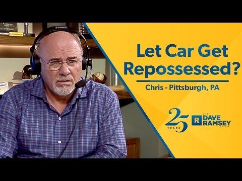 Let Car Get Repossessed?