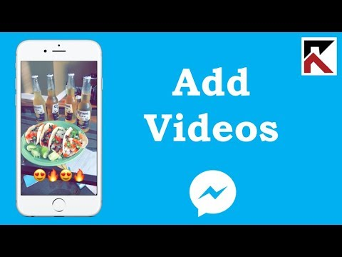How To Add A Video To My Day Facebook Messenger