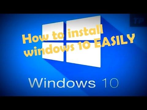 How to install windows 10 easily | কিভাবে উইন্ডোজ ১০ সেটআপ দিবেন।