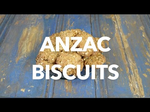 ANZAC BISCUITS - EATYUM - A Classic Australian Biscuit.