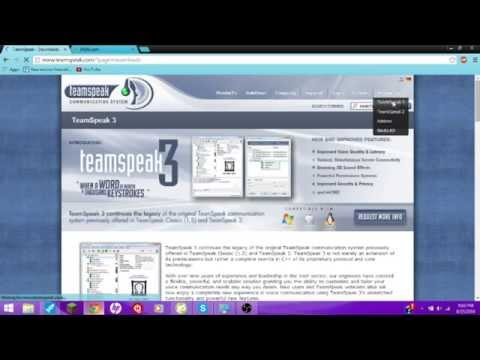 How to make a FREE Teamspeak Server With a CUSTOM IP!!! Portfowarding Tutorial also