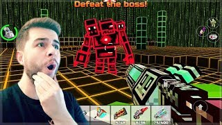 OMG! BEATING THE CAMPAIGN AT LEVEL 38 - 3 HEADED BUG BOSS BATTLE 1 YEAR LATER | Pixel Gun 3D