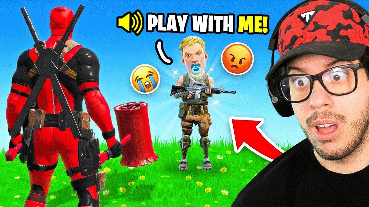 I made a kid cry in Fortnite..