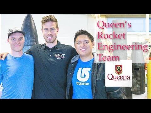 Meet the Queen's Rocket Engineering Team