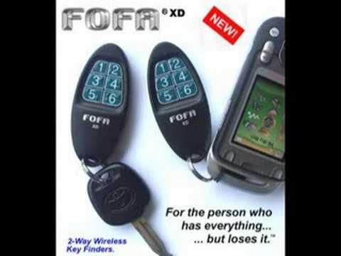 FOFA® Find One Find® All 2-Way Wireless Key Finder & Remote Control Locators