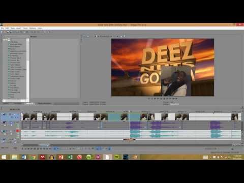 TUTORIAL: Making DEEZ NUTS 20th Century Fox Theme (Audacity, Blender, Sony Vegas Pro)