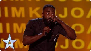 Kojo's hilarious childhood tales has the Judges in stitches   Semi-Finals   BGT 2019
