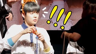 Download TXT 투바투 : 놀란 팬, 놀란 연준 (feat. 수빈 SOOBIN) YEONJUN be surprised : Edited fancam : fansign 시네파크 190504 Video