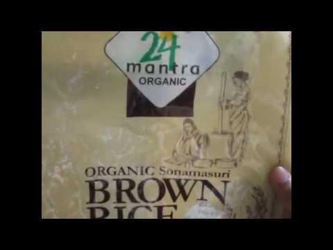 review -24 mantra(brand)organic brown rice ,sona masuri