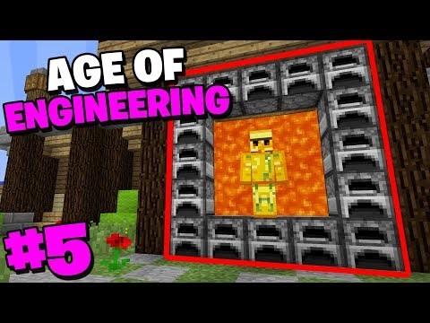 THE MOST OVERPOWERED FURNACE - MINECRAFTS HARDEST MODPACK AGE OF ENGINEERING #5
