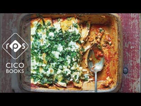 Spinach Frittata Lasagne Recipe - Gluten-free and vegetarian lasagna recipe
