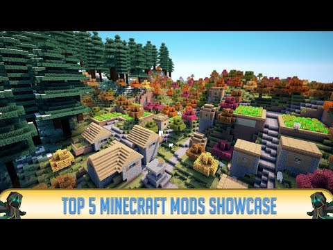 Minecraft 1.12.2: TOP 5 MINECRAFT MODS of 2018!