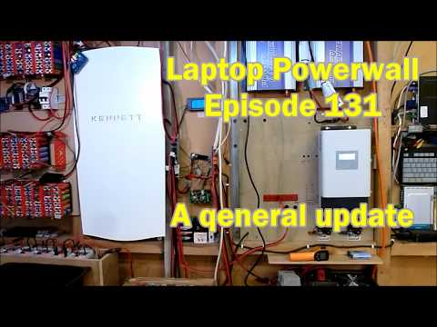 Laptop Powerwall 131 - another general update