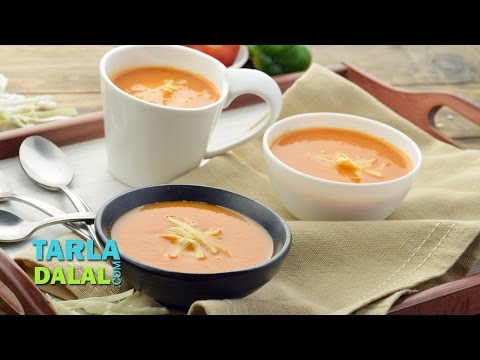 Mixed Vegetable Soup by Tarla Dalal