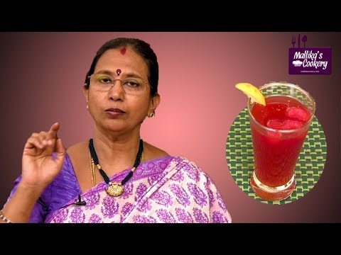 KOKUM DRINK : Mallika Badrinath Recipes | Healthy Summer Drink