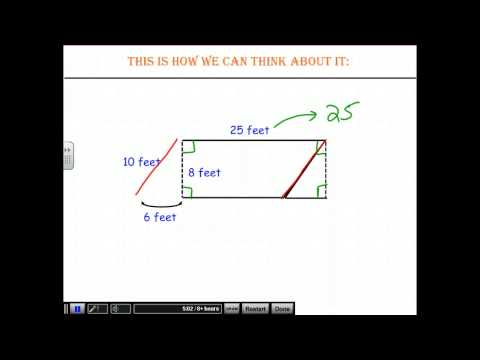 FULL LESSON - Area of Parallelograms and Trapezoids