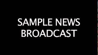 Radio News Sample