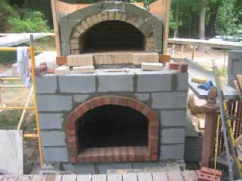Wood Fired Brick Pizza Oven Construction