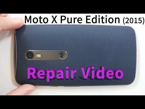 Moto X Pure Edition 2015 Screen Repair, Battery Replacement Xt1575