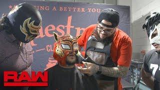 Lince Dorado needs a shave: Raw Exclusive, May 21, 2018