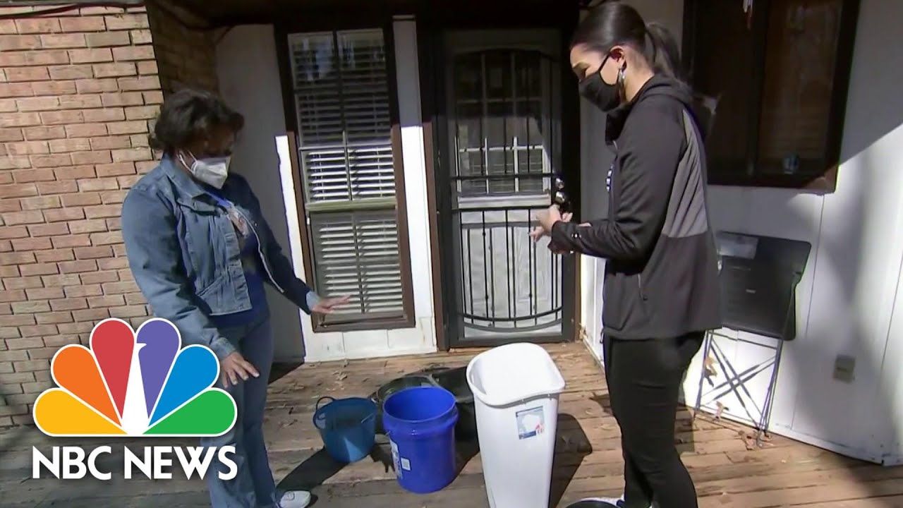 Residents In Mississippi Without Water For More Than Two Weeks After Storm   NBC News NOW