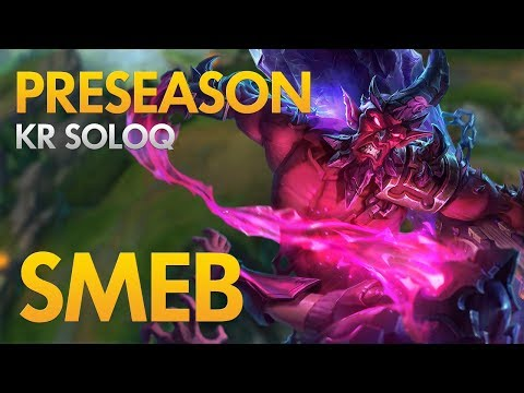PRESEASON: KT ROLSTER SMEB - Ryze Top Lane