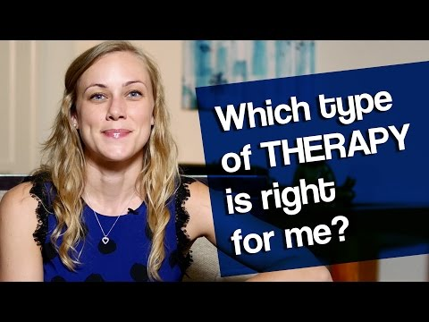 Which TYPE of therapy is right for me? Mental Health Help with Kati Morton