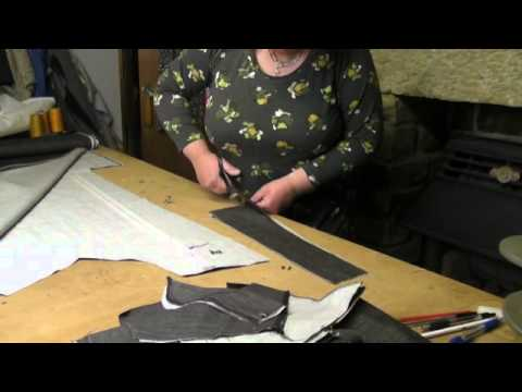 Sewing Tutorial - Making Jeans   Part 1 -  Pattern Cutting