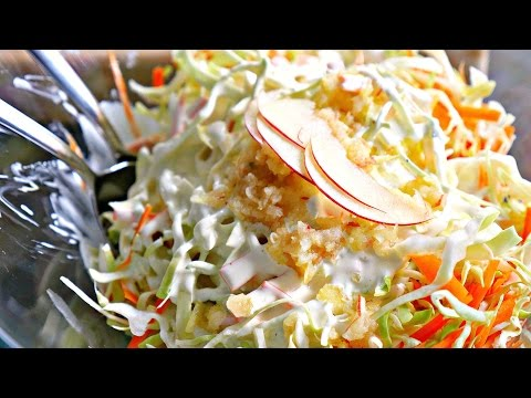 THE BEST COLESLAW RECIPE - Barbecue Side Dish
