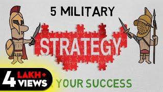5 STRATEGIES FOR SUCCESS (HINDI) - ART OF WAR SUMMARY