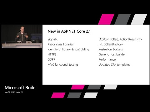 What's new in Web Development with ASP.NETCore 2.1 : Build 2018