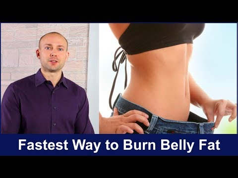 Fastest Way to Burn Belly Fat 2018